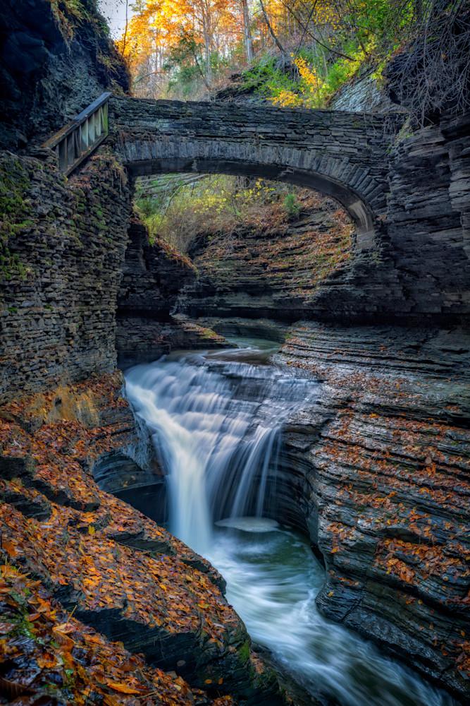 The Footbridge Over Rainbow Falls | Shop Photography by Rick Berk