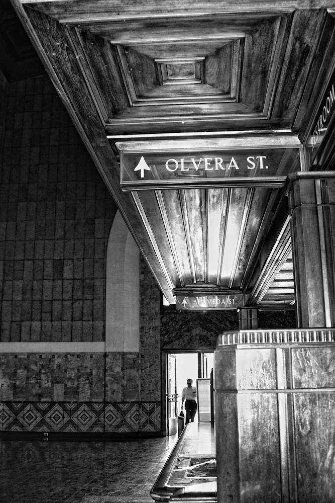 Union Station Olivera St Photography Art | Rosanne Nitti Fine Arts
