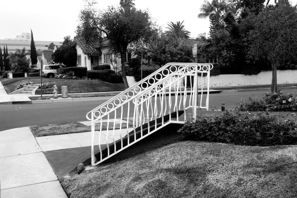 Hand Railing, Beverly Hills Photography Art | Peter Welch