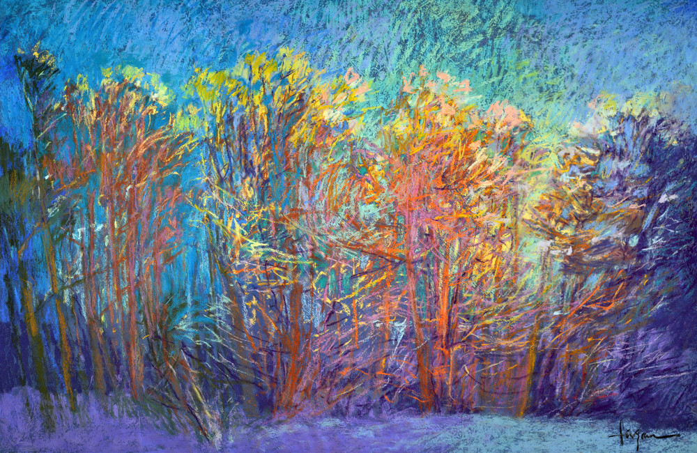 Sparkly In The Woods Art | Dorothy Fagan Joy's Garden