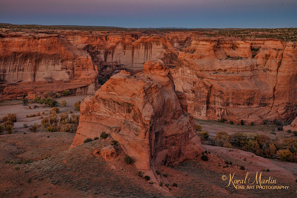 Sunset Canyon De Chelly View 3437   Art   Koral Martin Fine Art Photography