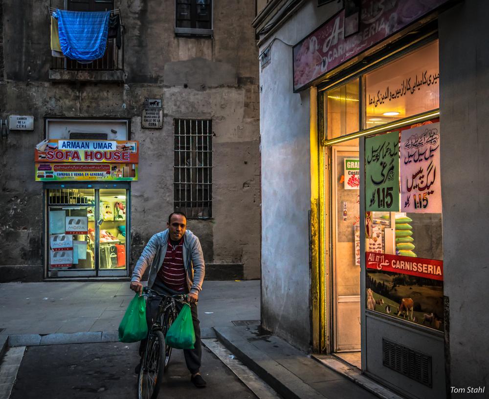 """Chicken On Sale,"" El Raval, Barcelona, 2015. Photography Art   Tom Stahl Photography"