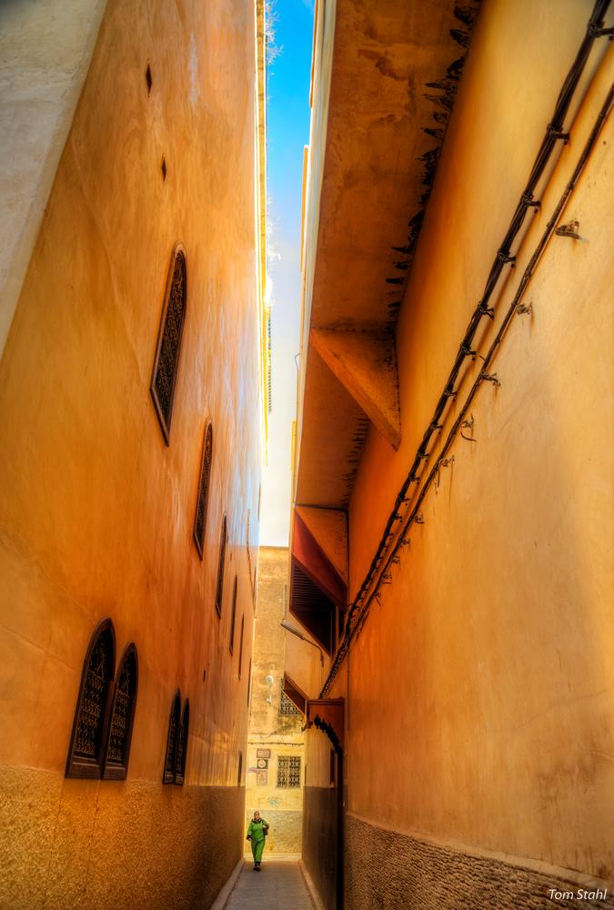 In the medina, Fes, Morocco, 2015.