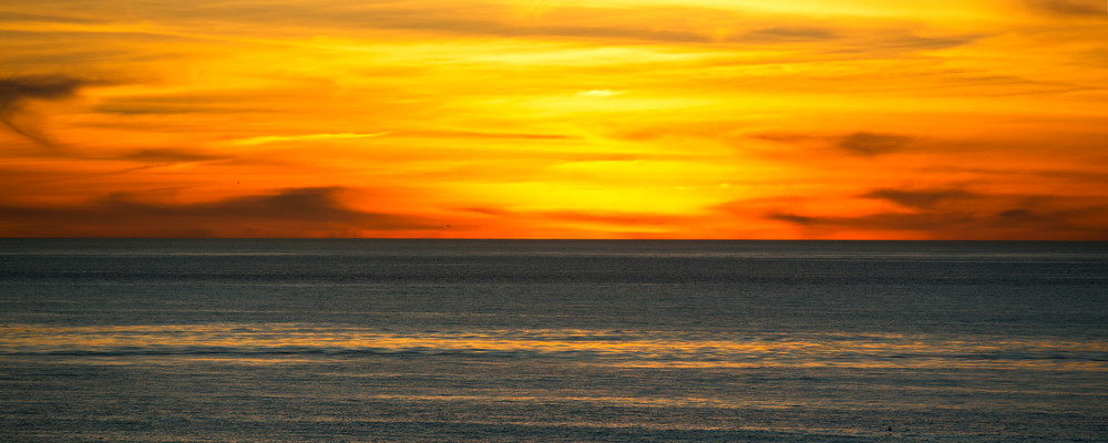 sunset landscape nature