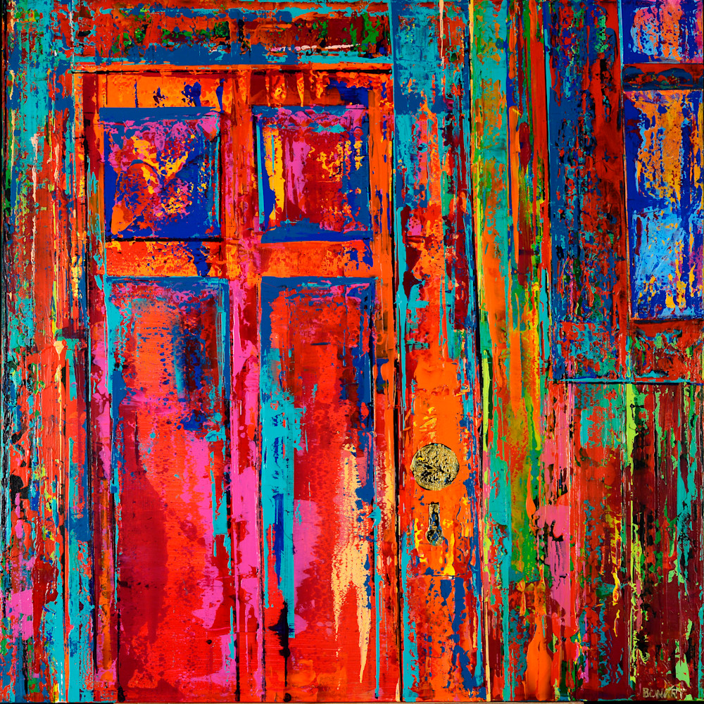 Red Door Art | benbonart