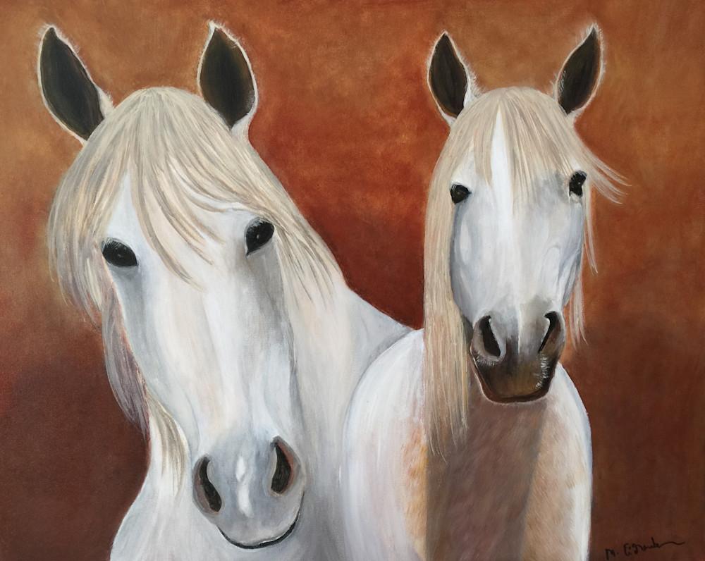 White Horses Art | Marie Art Gallery