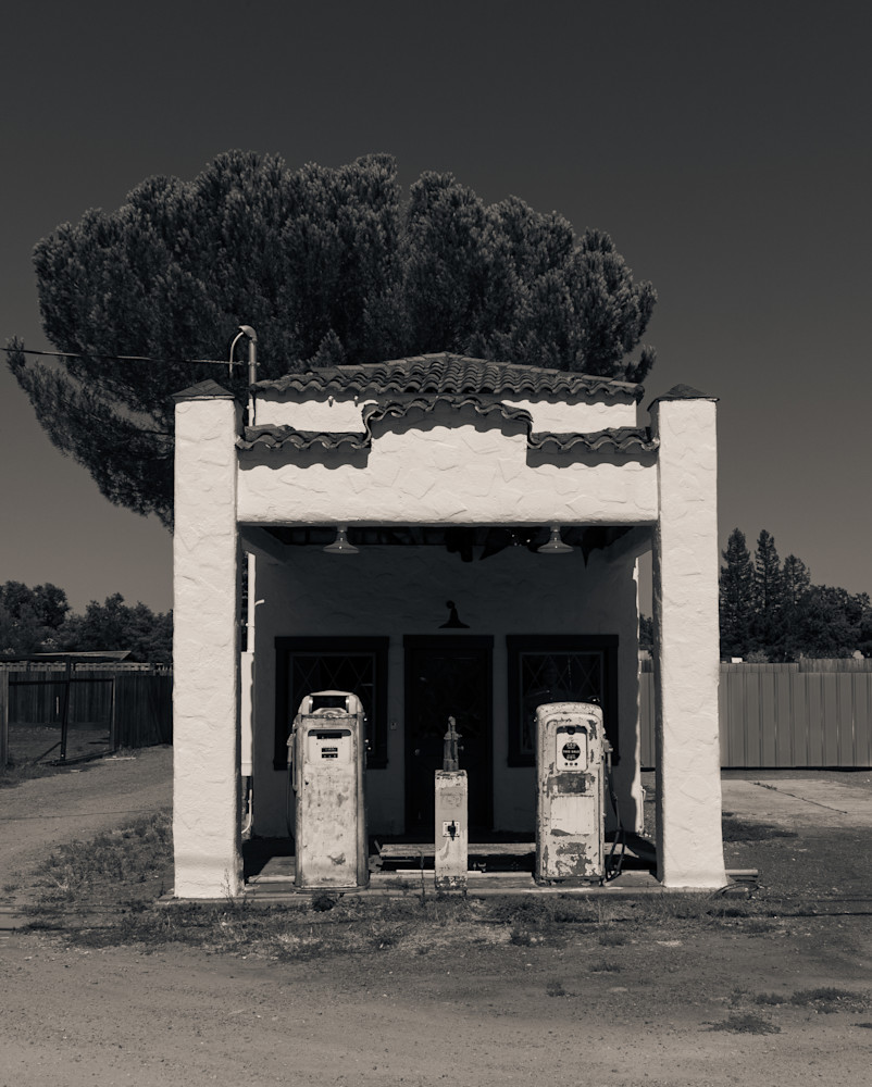 Ancient Service Station Windsor CA