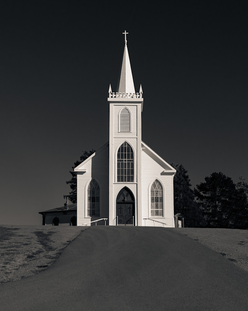 St Teresa Church Bodega Ca Photography Art | Dan Katz, Inc.