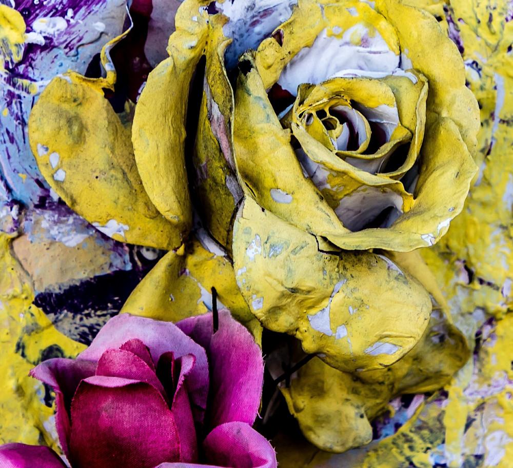 Voodoo Painted Roses St Louis Cemetery 1 New Orleans 2017 Photography Art | Dan Katz, Inc.