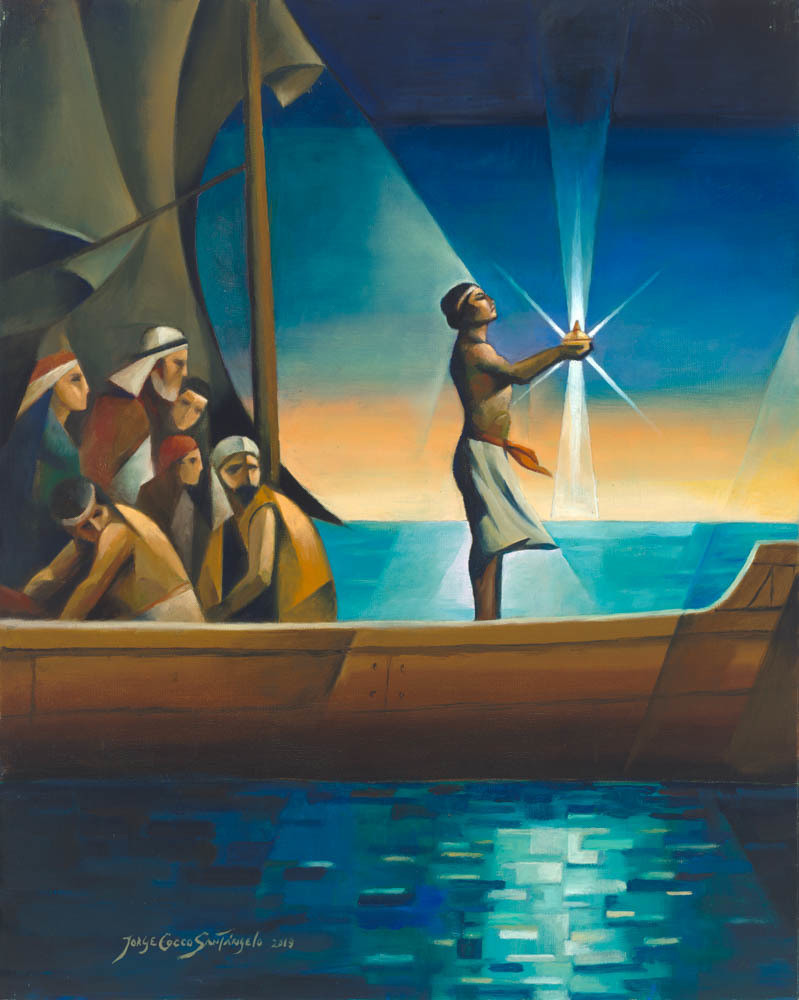 Nephi and the Liahona