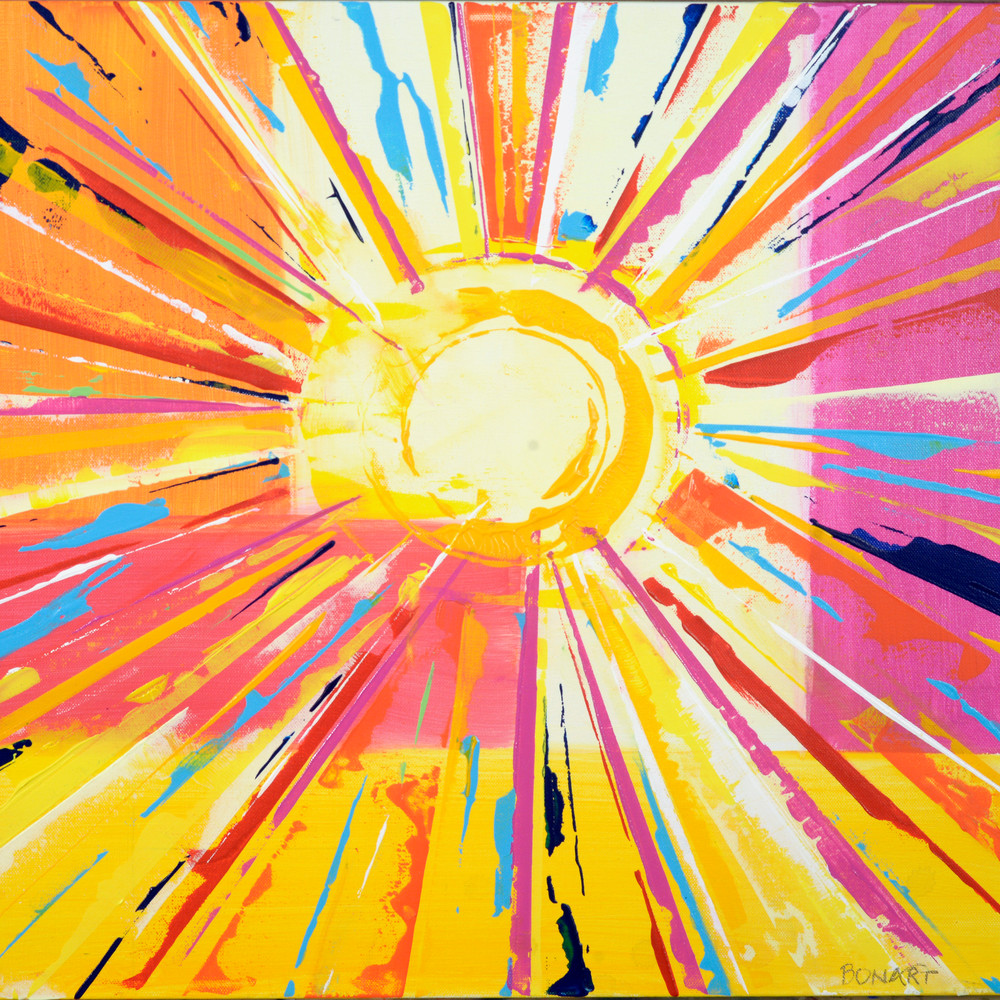 Hello Sunshine  Art | benbonart