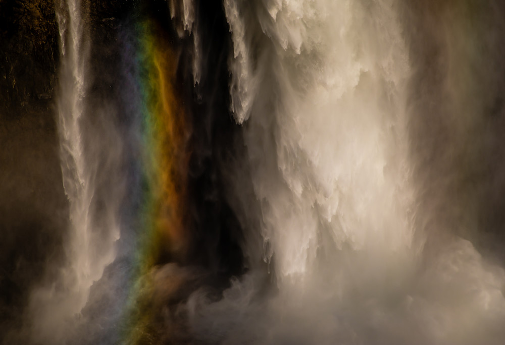 Snowqualmie Rainbow Photography Art | Dan Katz, Inc.