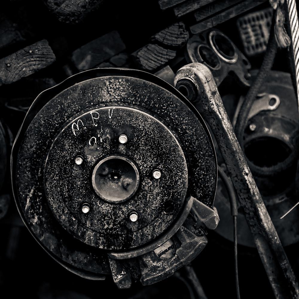 Scrap Yard Disc Brake