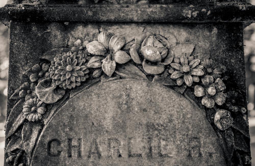 Floral Embellishment Grave Lone Fir Cemetery Portland