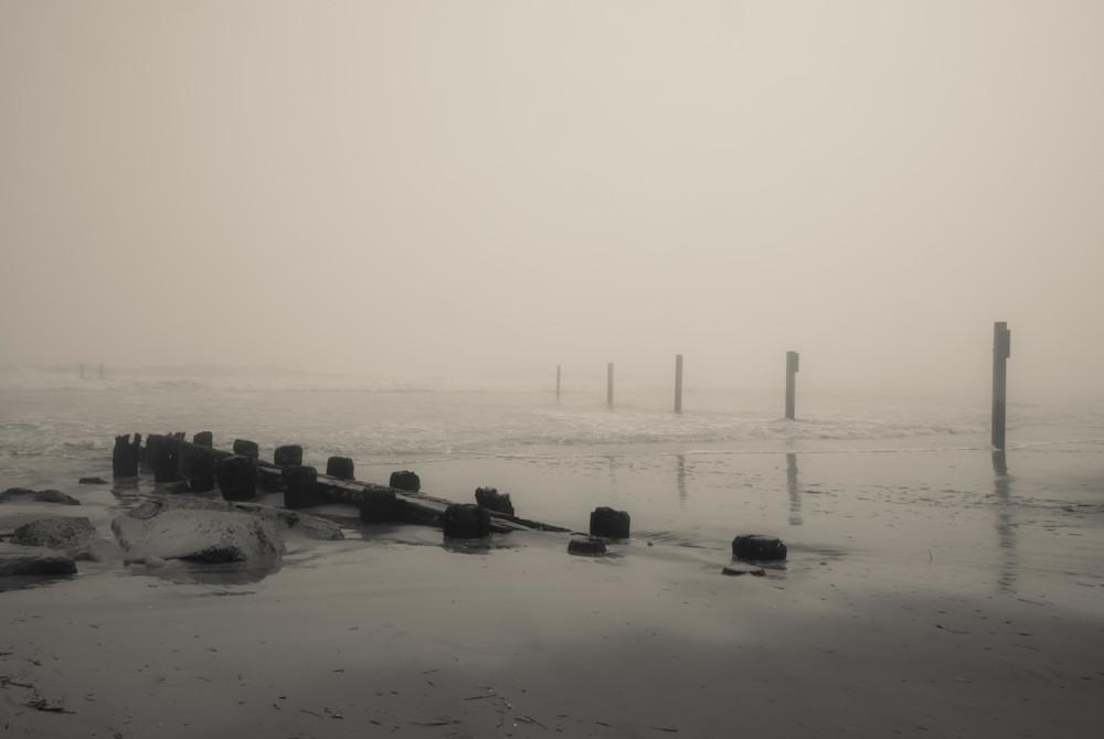 """Remains of Pilings"" by Dan Katz. Visit www.GalleryKatz.net. #AtlanticCity"