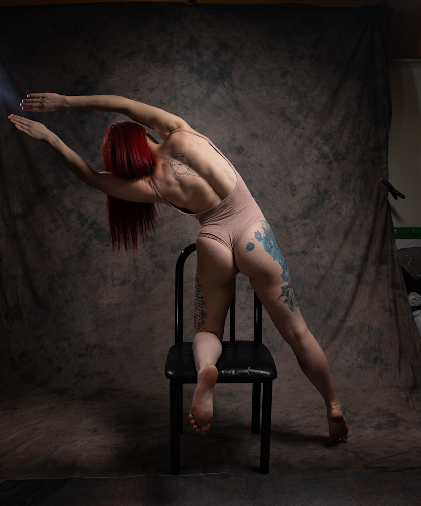 Black Chair #7 Photography Art | Dan Katz, Inc.