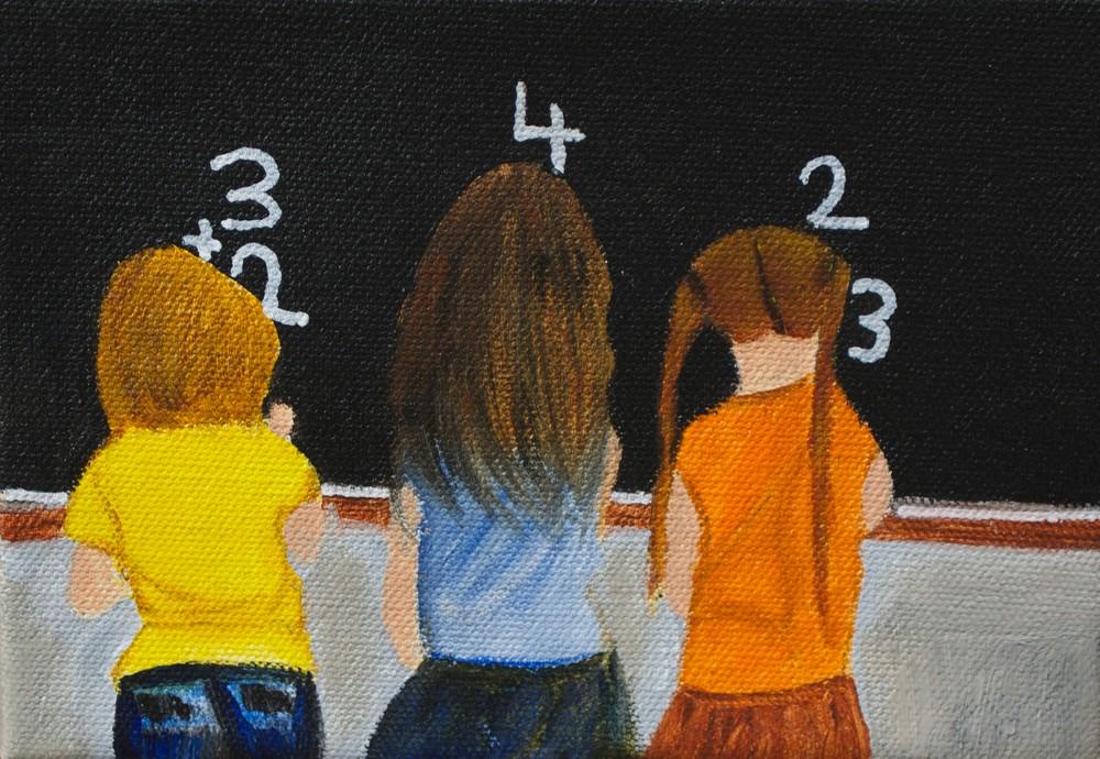School Days Art | Marie Art Gallery