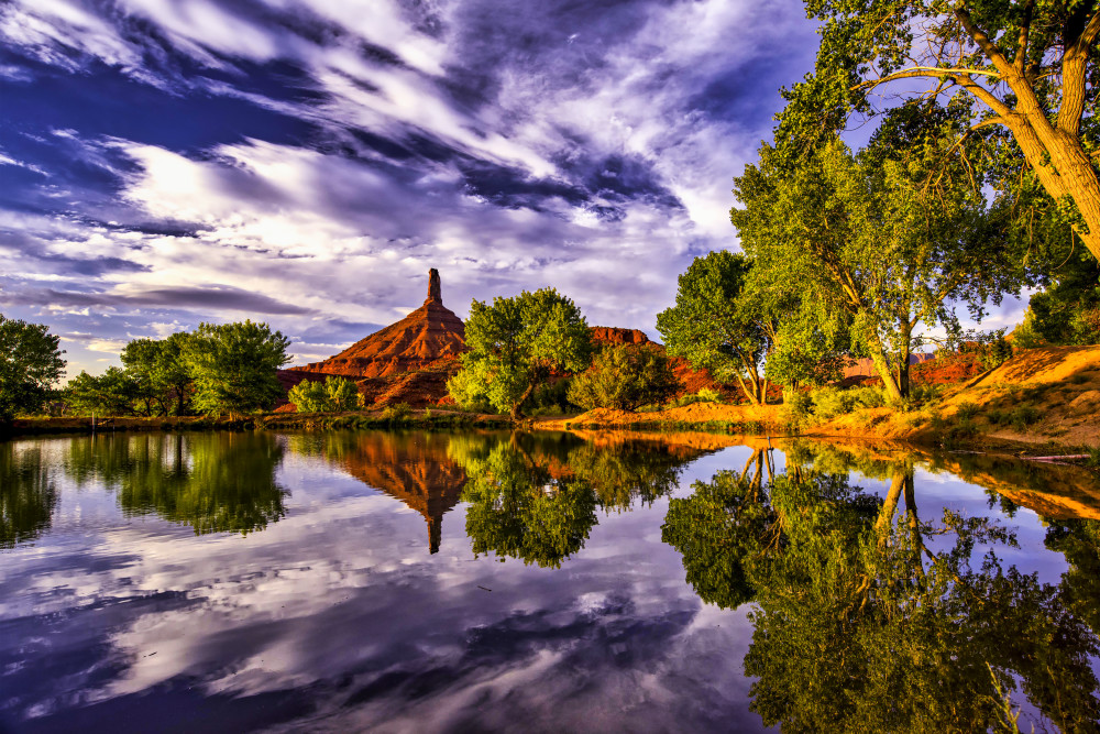Castle Rock Reflection