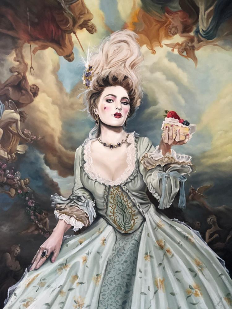 Let Them Eat Cake Art | De'Ago Art