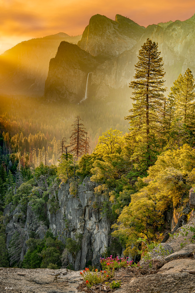 Yosemite Light at the End of the Tunnel - Tunnel View