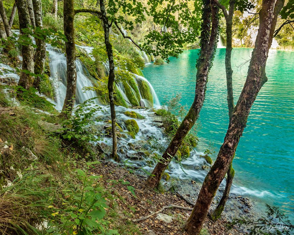 Plitvice Lakes, Croatia Photography Art   brucedanz