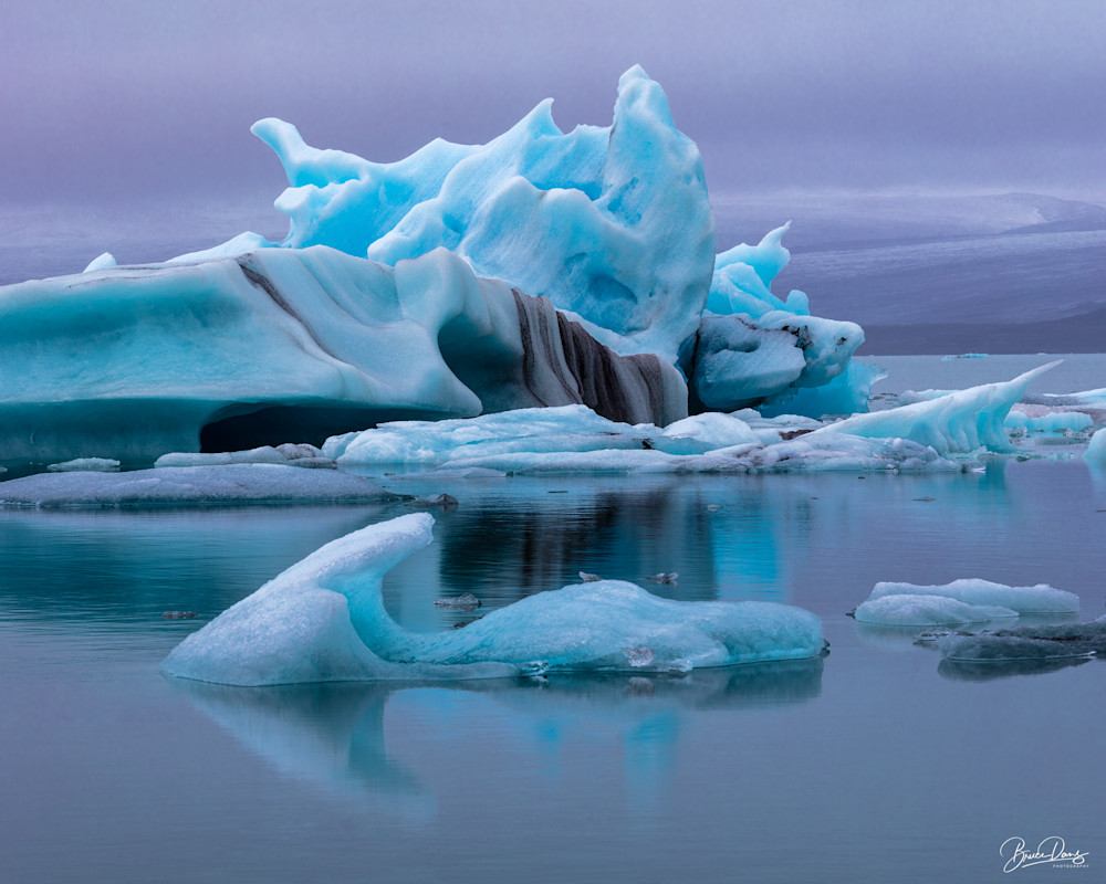 Iceberg Lagoon Photography Art   brucedanz