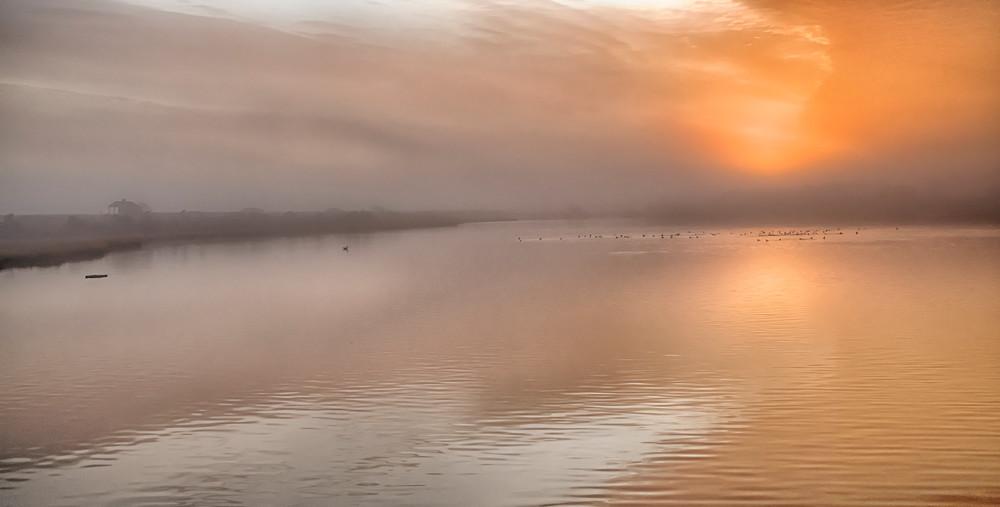 Cow Bay Fog Art   Michael Blanchard Inspirational Photography - Crossroads Gallery