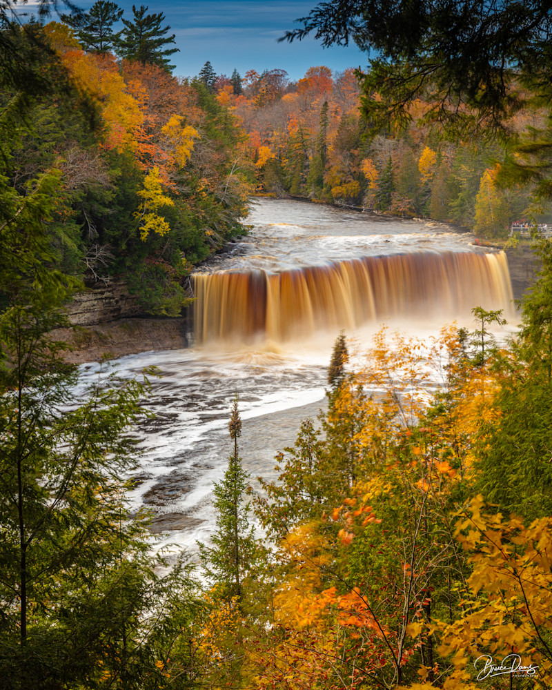 Tahquamenon Falls, waterfall, michigan, UP, Up Michigan, Autumn