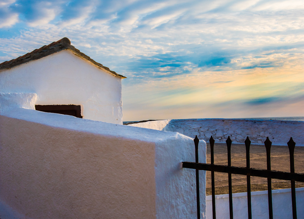 Little White House At Sunrise, Skopelos, Greece/Sold by Ben Asen Photography