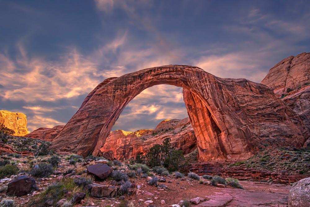 Rainbow Bridge Sunset