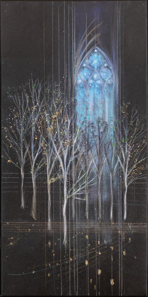 Winter Cathedral Art | Freiman Stoltzfus Gallery