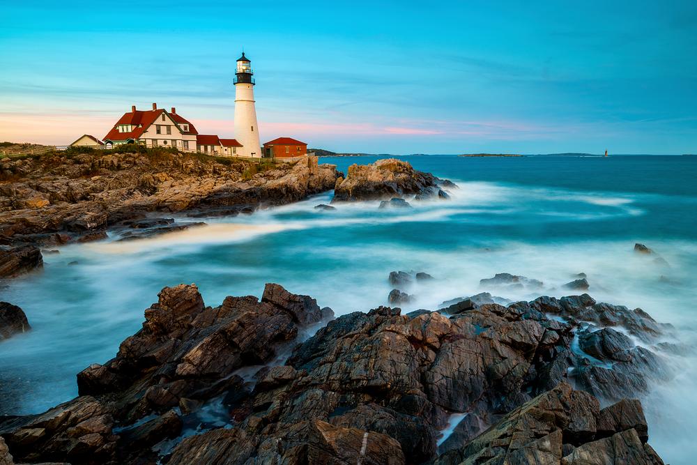 Cape Elizabeth Light Picnic Photography Art | Craig Primas Photography