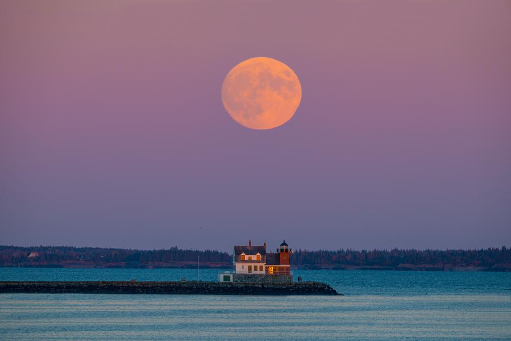 Rockland Harvest Moon Photography Art | Craig Primas Photography