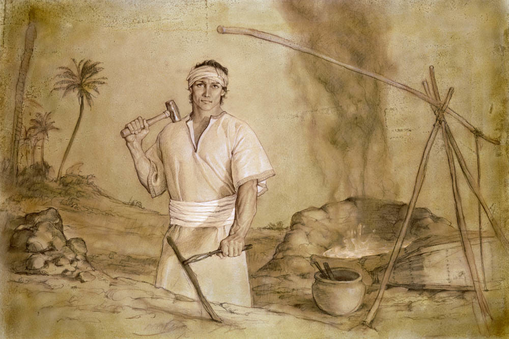 Nephi at the Forge