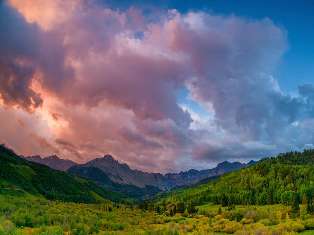 Mount Sneffels Sunset Glow Photography Art | Craig Primas Photography