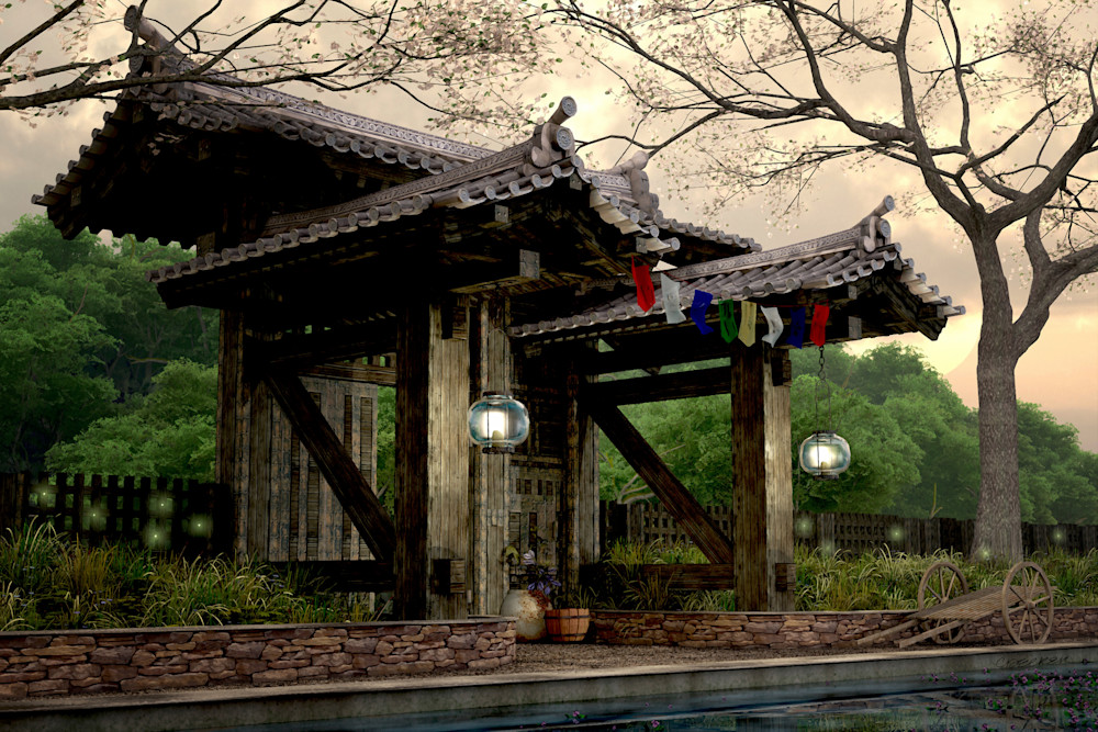 Garden Gate | Cynthia Decker