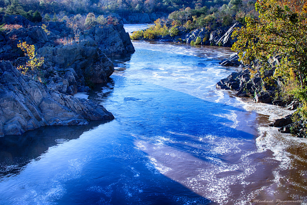 A Fine Art Photograph of Landscapes in Great Falls by Michael Pucciarelli