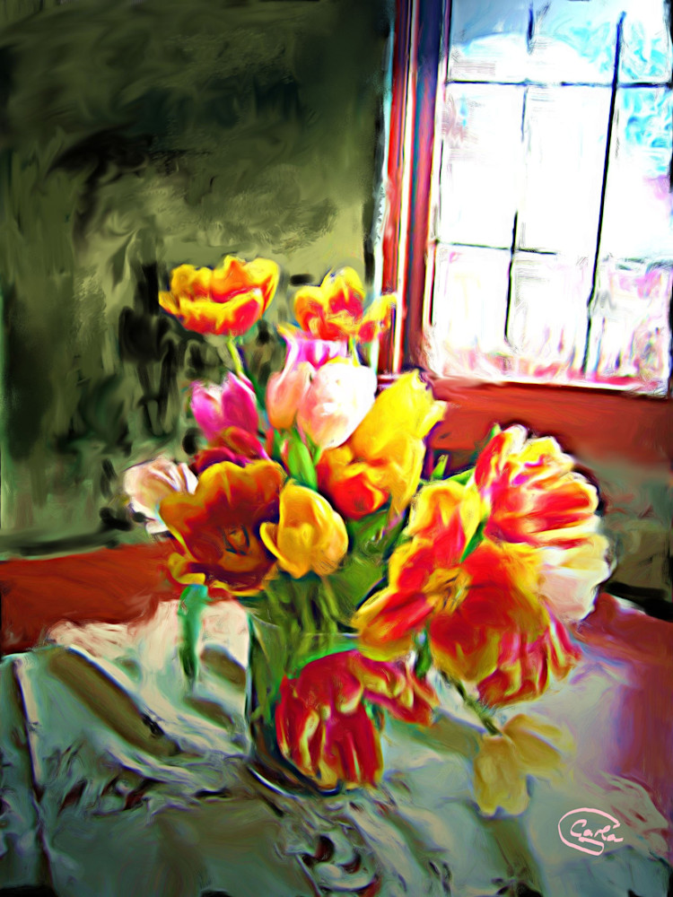 Spring Tulips Art | Carla Dreams