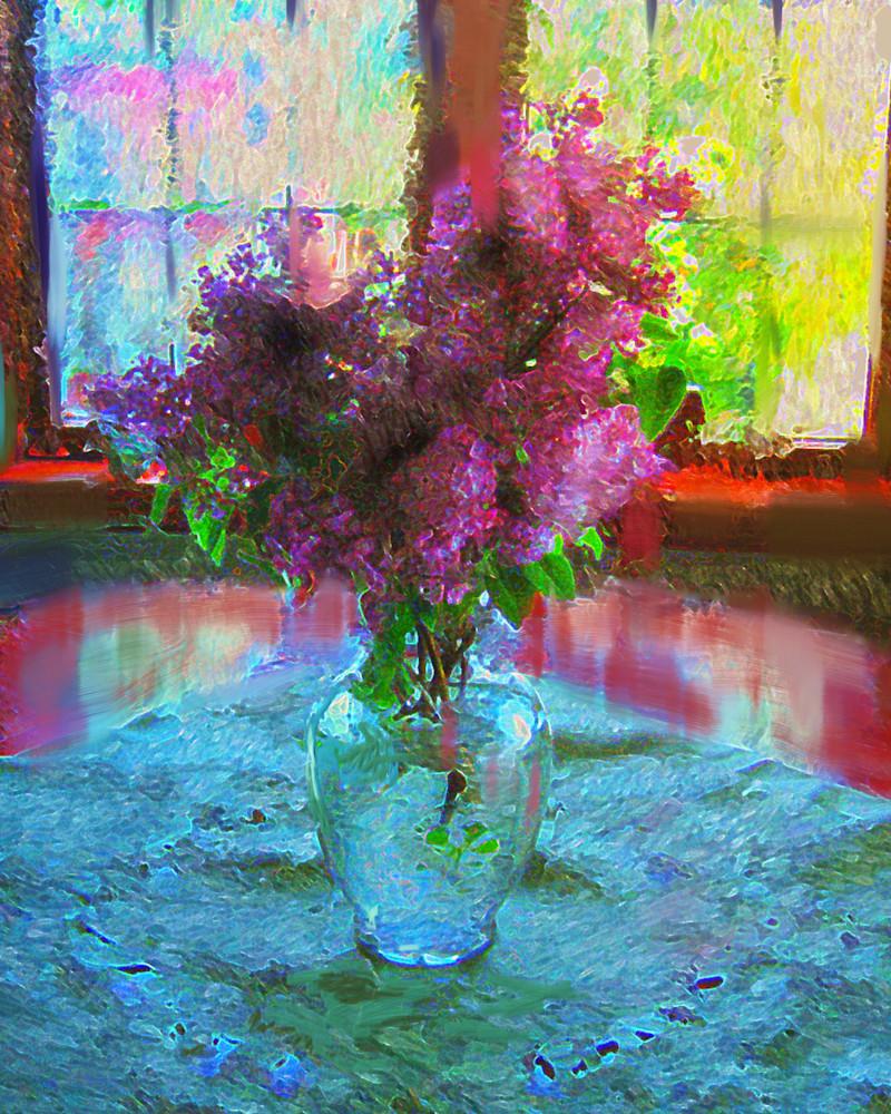 Sparkling Lilac Art | Carla Dreams
