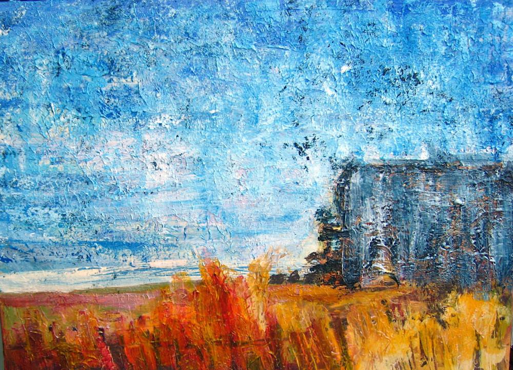 House On The Beach Art | Carla Dreams