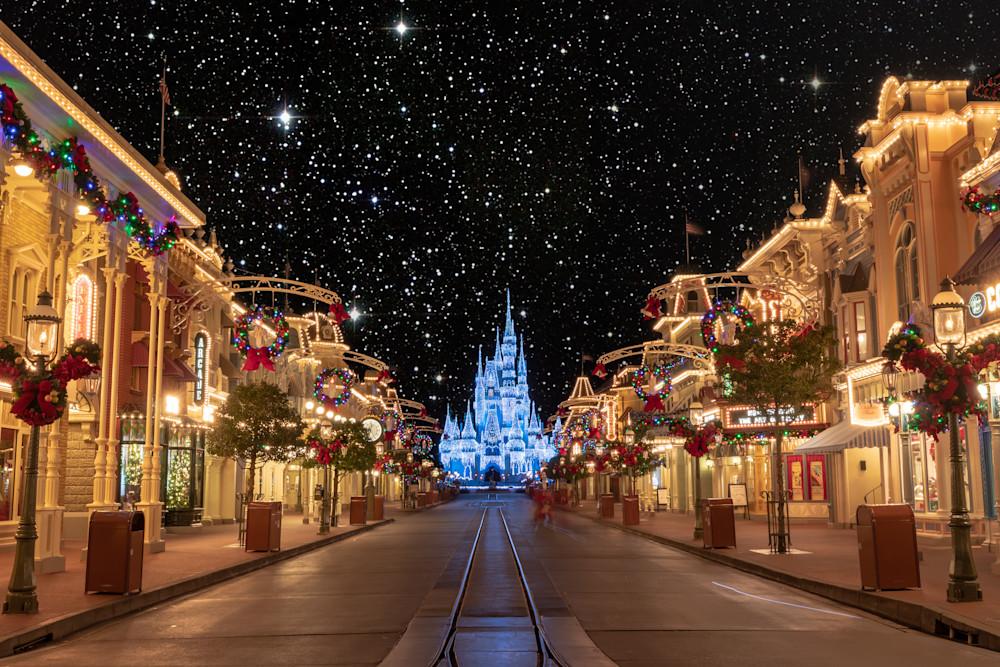 O Holy Night at Disney World - Disney Christmas | William Drew Photography