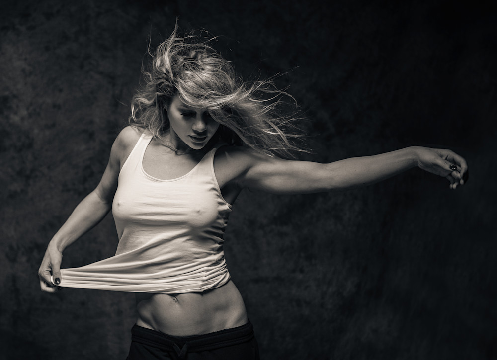 Ursula Expressive (Studio #2) Photography Art | Dan Katz, Inc.