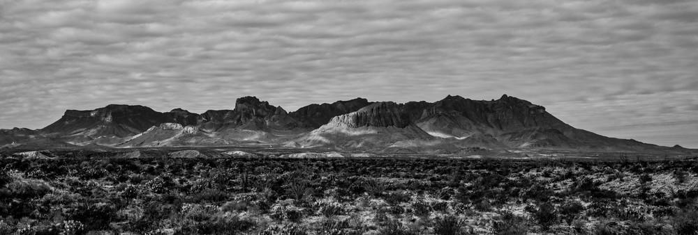 Chisos Mountains - Big Bend National Park fine-art photography prints