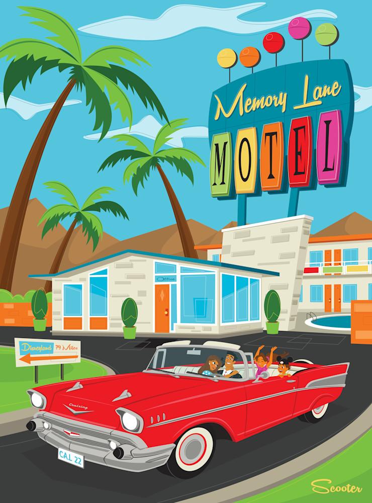 Trip Down Memory Lane Print