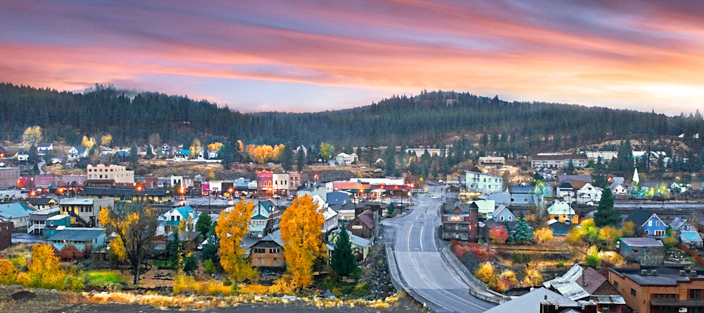 Autumn Sunrise Truckee