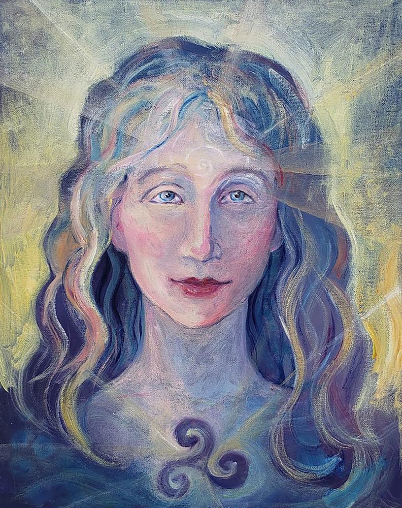 Goddess Brigid art print