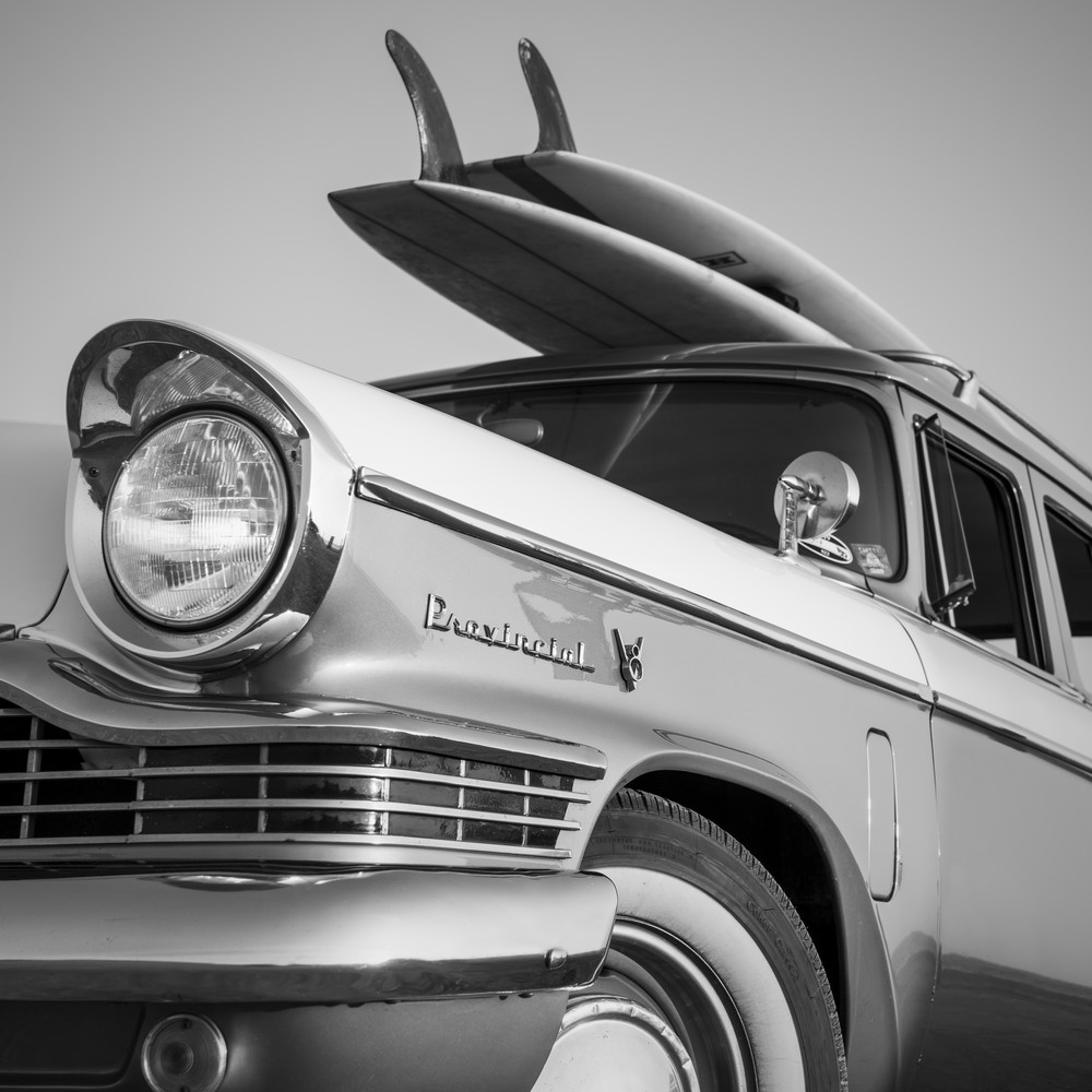 1964 Studebaker & Vintage Surfboards #3 Photography Art | Kit Noble Photography