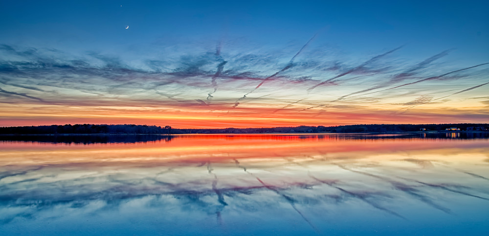 Sengekontacket Winter Reflections Art | Michael Blanchard Inspirational Photography - Crossroads Gallery