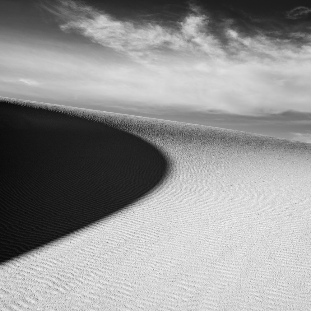 White Sands, Nm #2 (Square) Photography Art | Kit Noble Photography