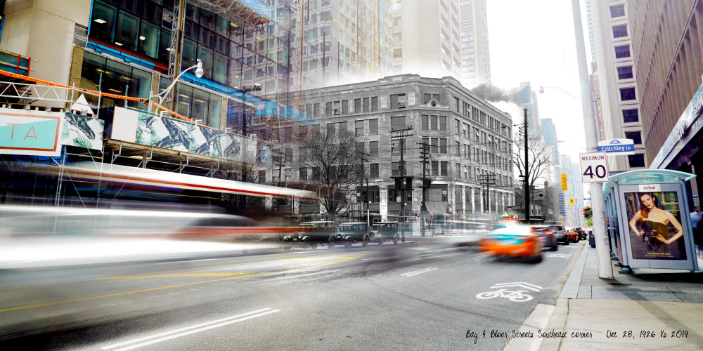 Past Present - The Bloor Building
